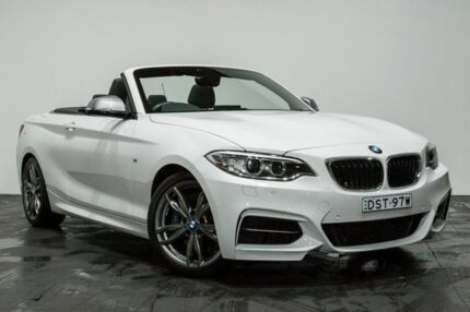 2015 BMW M235i F23 White 8 Speed Sports Automatic Convertible