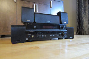 Pioneer SX-218-Complete-Home-Theater-System.Remote included.