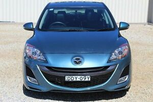2011 Mazda 3 BL 10 Upgrade SP25 Blue 5 Speed Automatic Sedan Windradyne Bathurst City Preview