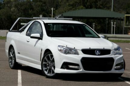 2015 Holden Ute VF MY15 SS V Ute White 6 Speed Manual Utility