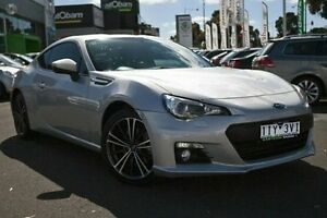 2013 Subaru BRZ Z1 MY13 S Silver 6 Speed Manual Coupe Nunawading Whitehorse Area Preview