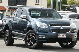 2014 Holden Colorado RG MY15 LTZ Space Cab Blue 6 Speed Sports Automatic Utility