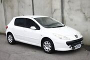 2007 Peugeot 307 T6 XS White 4 Speed Sports Automatic Hatchback Mount Hawthorn Vincent Area Preview