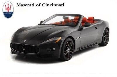 2012 Maserati Gran Turismo Sport 2012 Maserati GranTurismo Convertible Sport 31382 Miles Nero Carbonio Convertibl