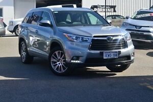 2015 Toyota Kluger GSU55R Grande AWD Silver Sky 6 Speed Sports Automatic Wagon Claremont Nedlands Area Preview