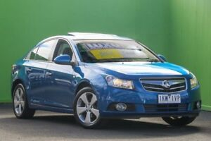 2011 Holden Cruze JG CDX Blue 6 Speed Sports Automatic Sedan Ringwood East Maroondah Area Preview