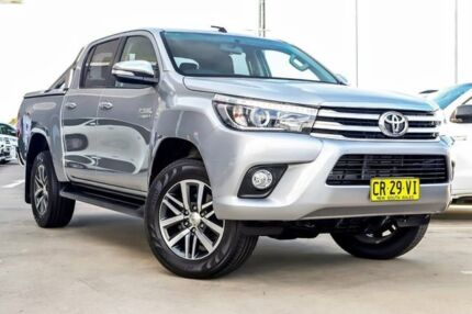 2015 Toyota Hilux GUN126R SR5 Double Cab Silver 6 Speed Sports Automatic Utility Blacktown Blacktown Area Preview