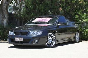 2006 Holden Special Vehicles Maloo Z Series MY06 Black 6 Speed Manual Utility Underwood Logan Area Preview