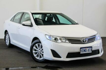 2014 Toyota Camry ASV50R Altise Diamond White 6 Speed Sports Automatic Sedan Myaree Melville Area Preview