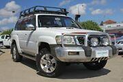2006 Nissan Patrol GU IV ST-L (4x4) White 5 Speed Manual Wagon Victoria Park Victoria Park Area Preview