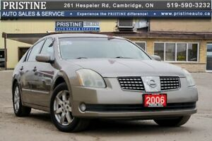 2006 Nissan Maxima 3.5 SL Accident Free Leather Sunroof Only 149