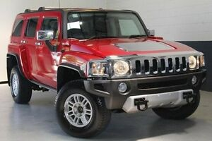 2008 Hummer H3 Luxury Red 4 Speed Automatic Wagon Nailsworth Prospect Area Preview
