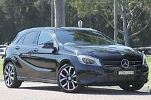 2014 Mercedes-Benz A200 CDI W176 D-CT Cosmos Black 7 Speed Sports Automatic Dual Clutch Hatchback Warwick Farm Liverpool Area Preview