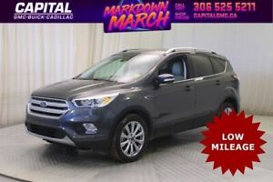 2018 Ford Escape Titanium 4WD*Leather*Sunroof*