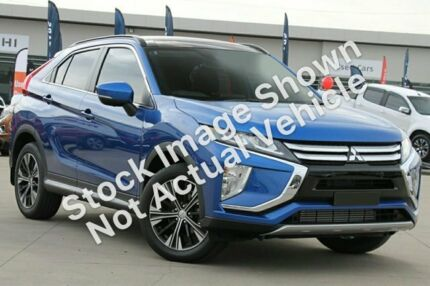 2018 Mitsubishi Eclipse Cross YA MY18 Exceed 2WD Lightning Blue 8 Speed Constant Variable Wagon Wayville Unley Area Preview