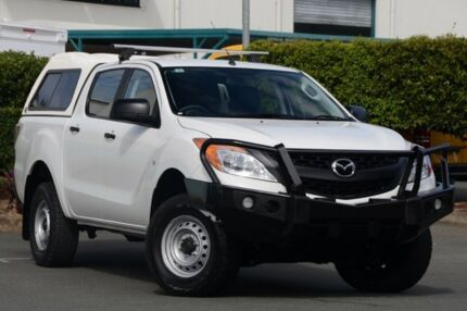 2012 Mazda BT-50 UP0YF1 XT White 6 Speed Manual Utility Acacia Ridge Brisbane South West Preview