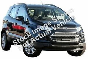 2014 Ford Ecosport BK Trend Yellow 5 Speed Manual Wagon Fyshwick South Canberra Preview