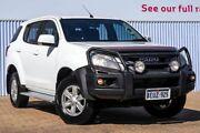 2015 Isuzu MU-X MY15 LS-M Rev-Tronic White 5 Speed Sports Automatic Wagon Morley Bayswater Area Preview