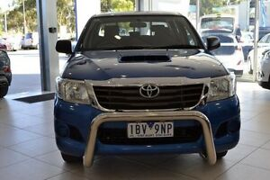 2014 Toyota Hilux KUN16R MY14 SR Xtra Cab Blue 5 Speed Manual Utility Mill Park Whittlesea Area Preview