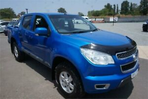 2015 Holden Colorado RG MY16 LS-X Crew Cab Blue 6 Speed Sports Automatic Utility Elderslie Camden Area Preview