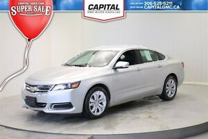2016 Chevrolet Impala 2LT Leather trimmed buckets-ONSTAR 4G LTE
