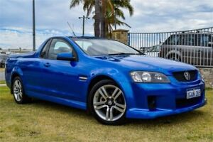 2008 Holden Commodore VE SV6 60th Anniversary Blue 6 Speed Manual Utility Greenfields Mandurah Area Preview