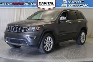 2017 Jeep Grand Cherokee Limited 4WD*Sunroof*Leather*V*