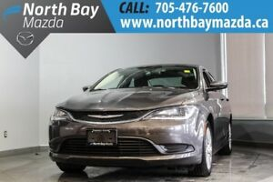 2015 Chrysler 200 LX with Winter Tires, Cruise Control, Auto Hea