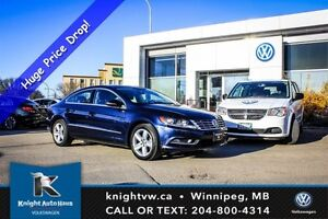 2015 Volkswagen CC 0.99% Financing Available OAC w/ Leather/Sunr