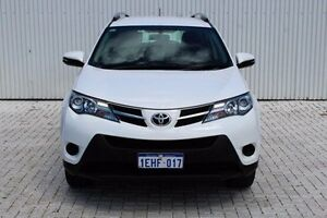 2013 Toyota RAV4 White Constant Variable Wagon Embleton Bayswater Area Preview