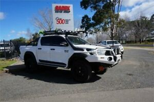 2016 Toyota Hilux GUN126R SR Double Cab White 6 Speed Sports Automatic Utility Elderslie Camden Area Preview