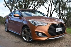 2012 Hyundai Veloster FS2 SR Coupe Turbo Orange 6 Speed Manual Hatchback St Marys Mitcham Area Preview