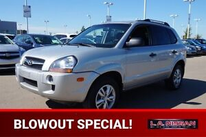 2009 Hyundai Tucson LOW KMS Heated Seats,  A/C,