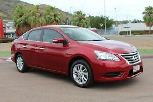 2013 Nissan Pulsar B17 ST Red 1 Speed Constant Variable Sedan Townsville Townsville City Preview