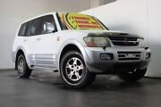 2002 Mitsubishi Pajero NP Exceed LWB (4x4) White 5 Speed Auto Sports Mode Wagon Underwood Logan Area Preview