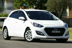 2015 Hyundai i30 GD3 Series II MY16 Active DCT White 7 Speed Sports Automatic Dual Clutch Hatchback