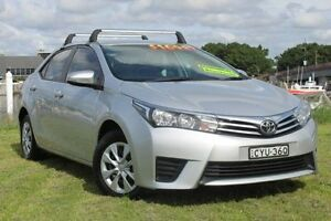 2015 Toyota Corolla ZRE172R Ascent S-CVT Silver 7 Speed Constant Variable Sedan Hamilton East Newcastle Area Preview