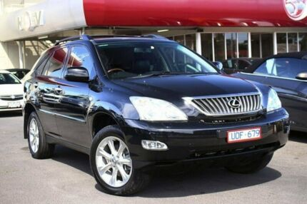 2007 Lexus RX350 GSU35R MY07 Sports Luxury Black 5 Speed Sports Automatic Wagon Frankston Frankston Area Preview