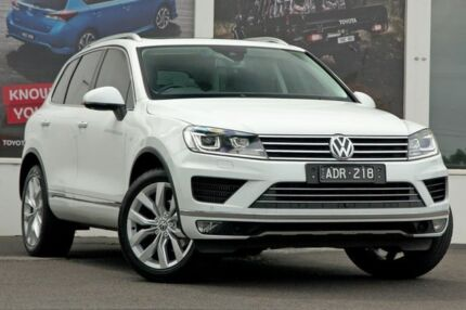 2015 Volkswagen Touareg 7P MY15 V6 TDI Tiptronic 4MOTION White 8 Speed Sports Automatic Wagon Ferntree Gully Knox Area Preview