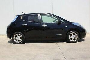 2012 Nissan Leaf ZE0 Black 1 Speed Reduction Gear Hatchback Berwick Casey Area Preview