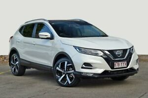 2017 Nissan Qashqai J11 Series 2 N-TEC X-tronic White 1 Speed Constant Variable Wagon Kedron Brisbane North East Preview