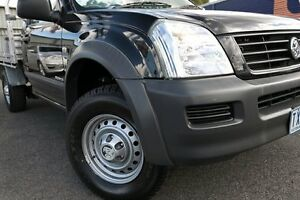2005 Holden Rodeo RA MY05.5 Upgrade LX Black 5 Speed Manual Traytop Oakleigh Monash Area Preview