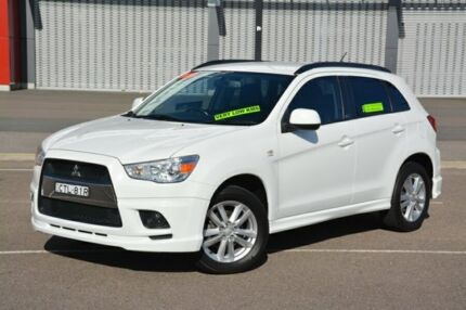 2011 Mitsubishi ASX XA MY12 30th Anniversary 2WD White 6 Speed Constant Variable Wagon
