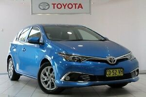 2015 Toyota Corolla ZRE182R Ascent Sport S-CVT Blue Gem 7 Speed Constant Variable Hatchback Waterloo Inner Sydney Preview