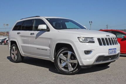 2014 Jeep Grand Cherokee WK MY2014 Overland White 8 Speed Sports Automatic Wagon Pearsall Wanneroo Area Preview