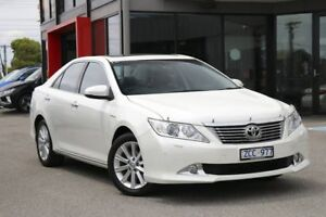 2012 Toyota Aurion GSV50R Presara White 6 Speed Sports Automatic Sedan