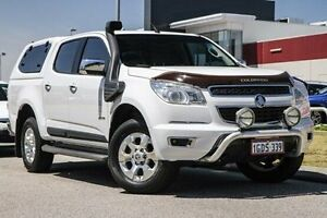 2014 Holden Colorado RG MY14 LTZ Crew Cab White 6 Speed Sports Automatic Utility East Rockingham Rockingham Area Preview