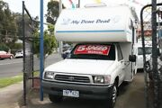 1999 Toyota Hilux RZN149R White 5 Speed Manual Cab Chassis Briar Hill Banyule Area Preview