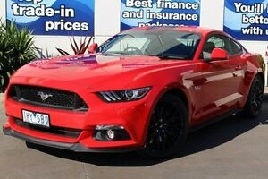 2016 Ford Mustang FM GT Red 6 Speed Manual Fastback Epping Whittlesea Area Preview