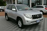 2016 Toyota Landcruiser Prado GDJ150R GXL Silver 6 Speed Sports Automatic Wagon Alfred Cove Melville Area Preview